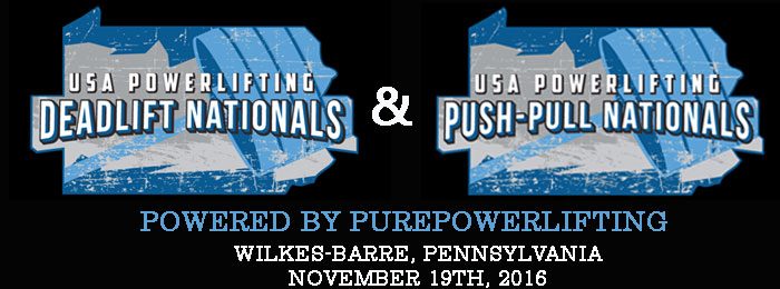 Nationals Push Pull and Deadlift