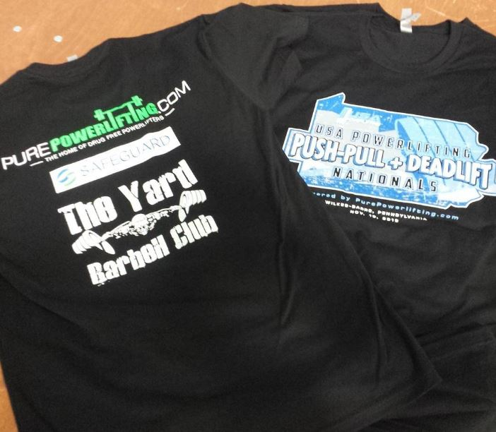PP and DL Nationals Shirts